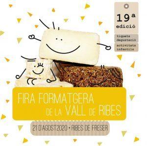 Fira Formatgera de la Vall de Ribes 2020 cartell