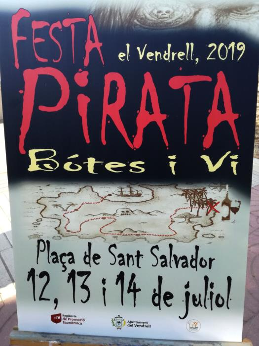 Festa Pirata, Bótes i Vi a El Vendrell