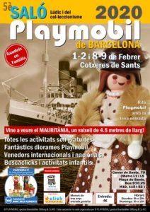 Salo del Playmobil a Cotxeres de Sants de Barcelona 2020