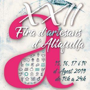Fira d'Artesans a Altafulla 2019