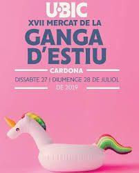 Mercat de la Ganga d'Estiu a Cardona 2020 cartell